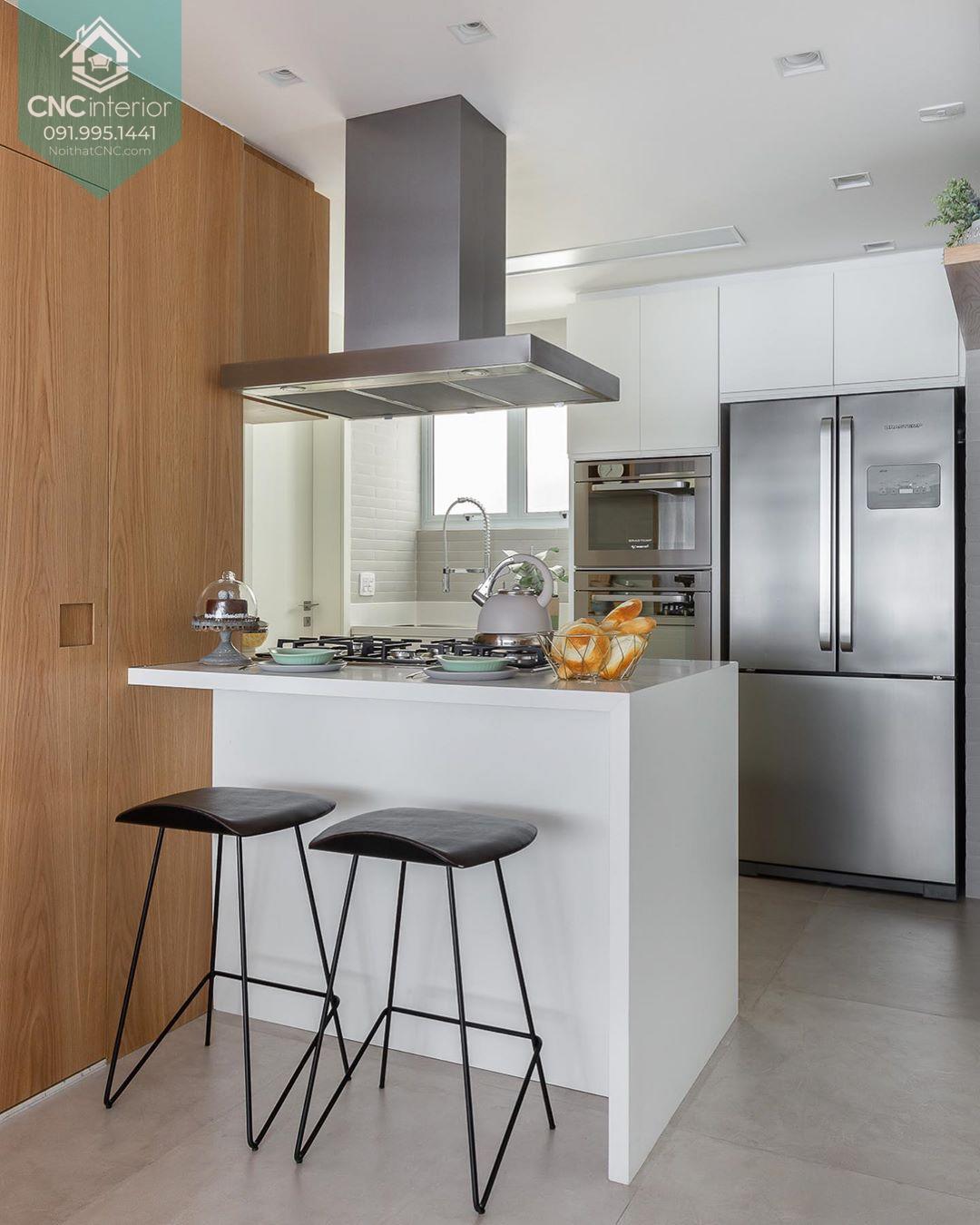 Nhà bếp nhỏ hiện đại 2