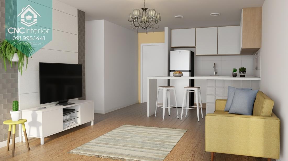 Phòng bếp nhỏ gọn 1