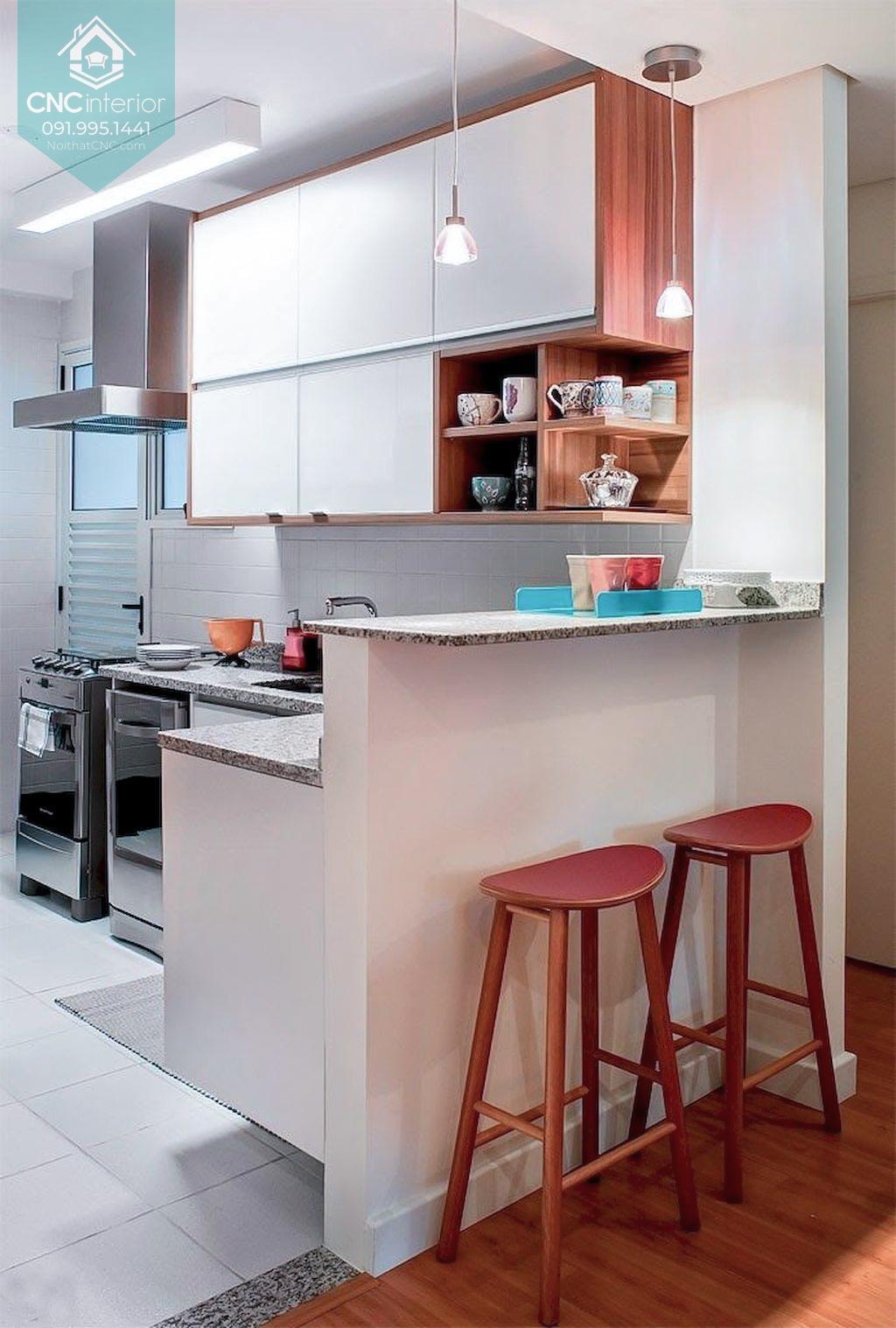 Nhà bếp nhỏ hiện đại 1