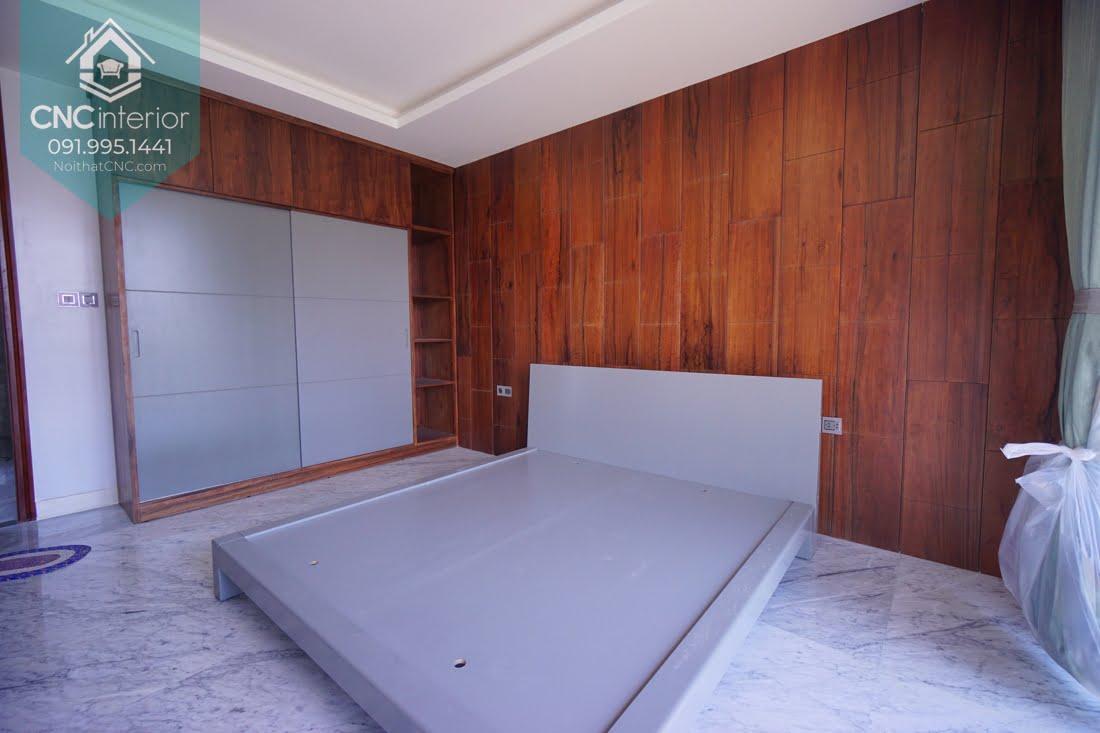 Phòng ngủ gỗ óc chó 5