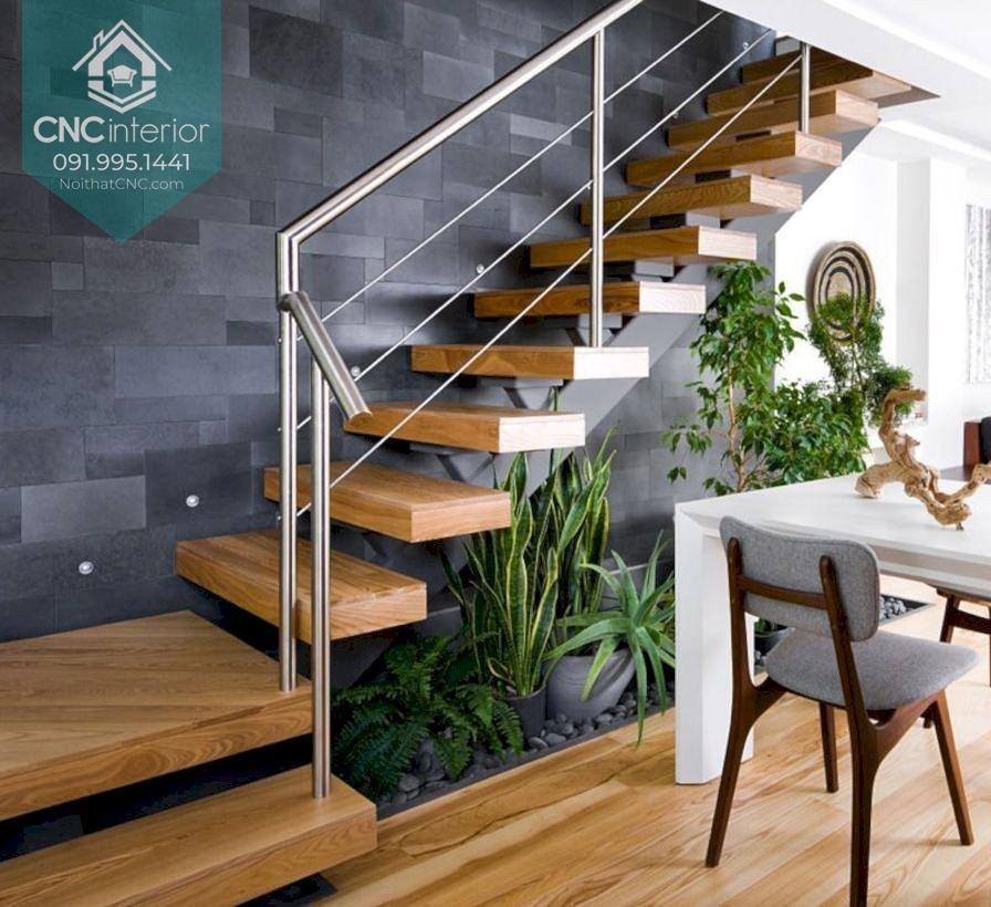 Thiết kế gầm cầu thang nhà ống