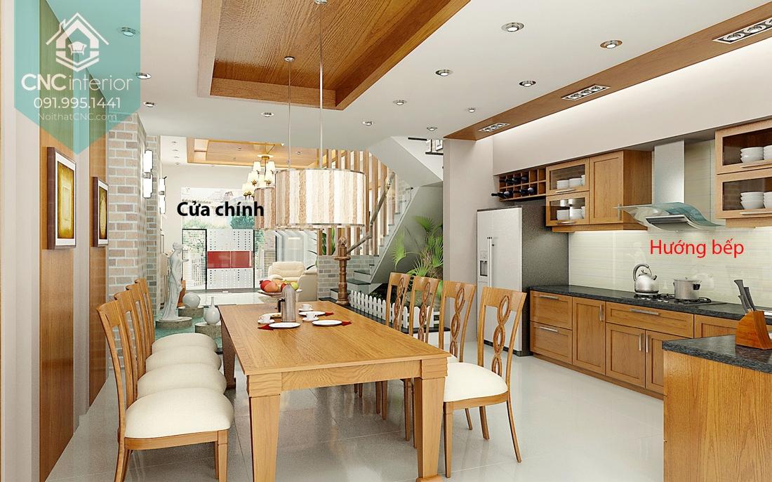 Nhà bếp theo phong thủy 1