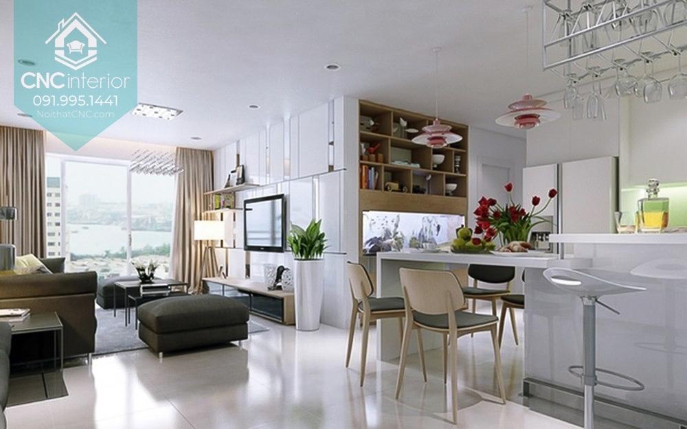 Phòng bếp chung cư 1