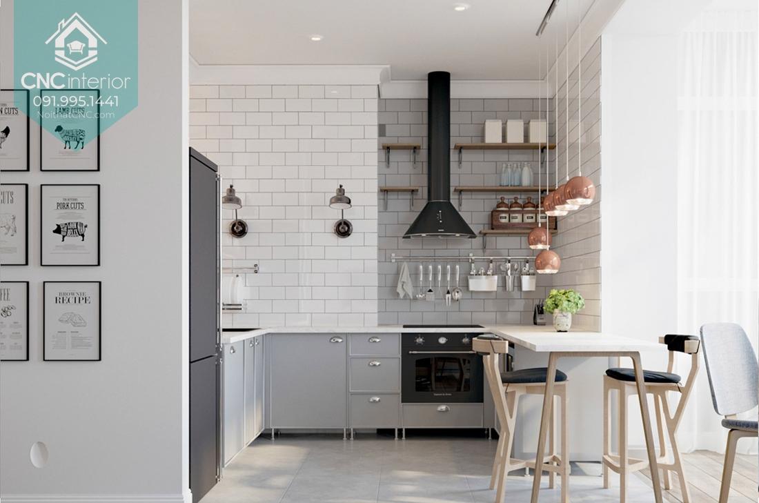 Nhà bếp đơn giản mà đẹp 1