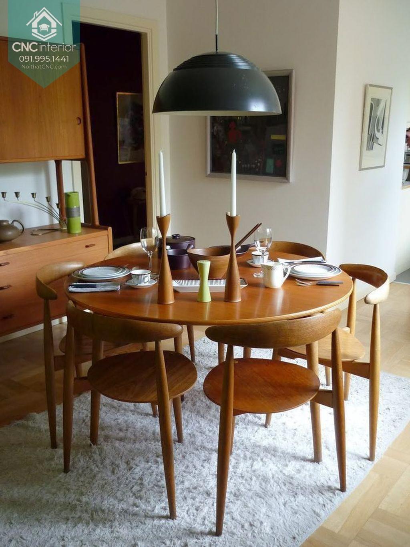 Bộ bàn ăn tròn 1