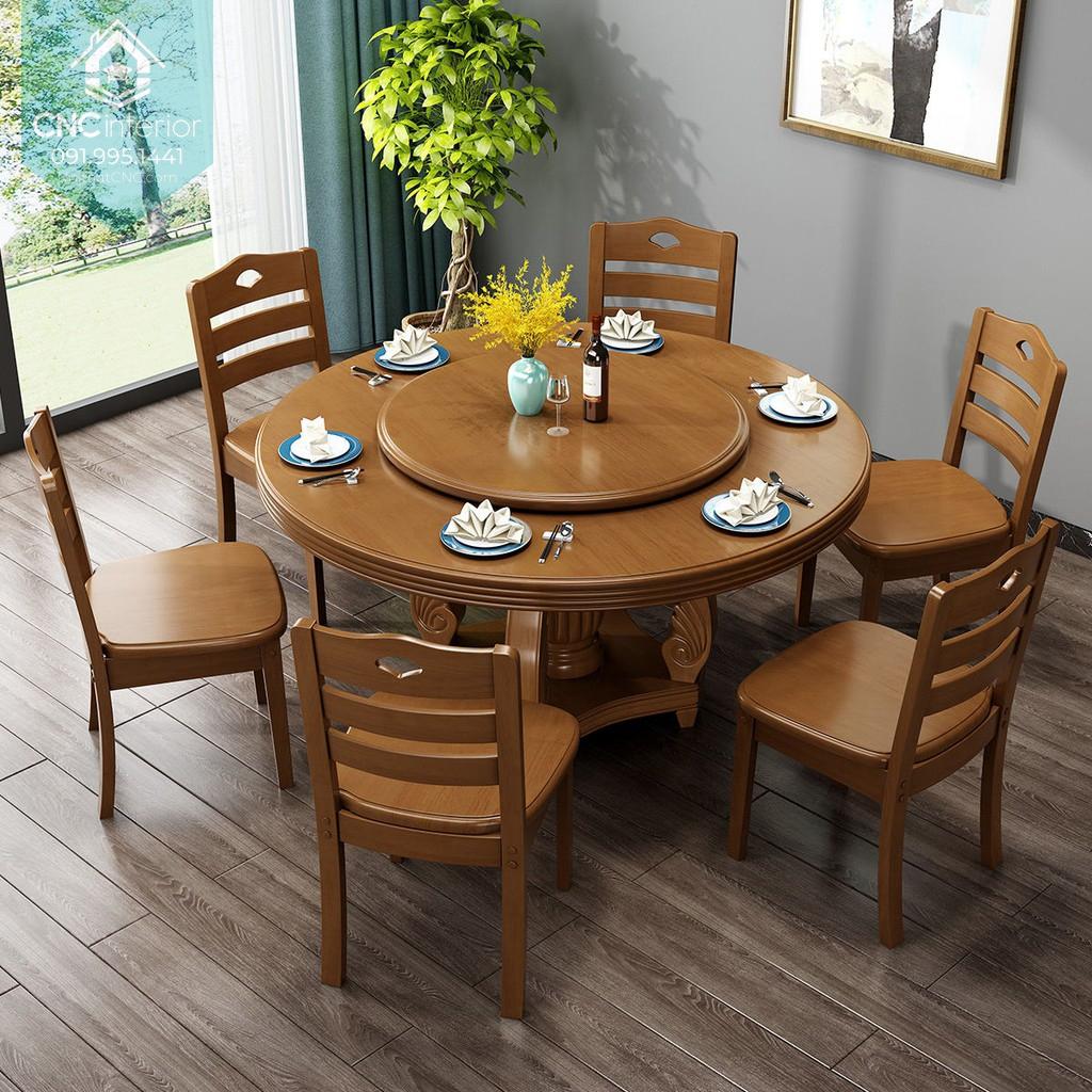 Bộ bàn ăn tròn 2