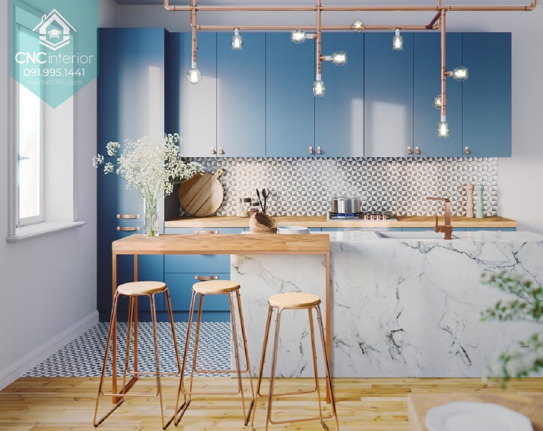 Phòng bếp đơn giản 3