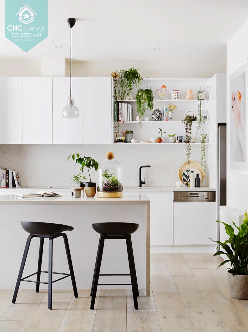 Phòng bếp đơn giản đẹp