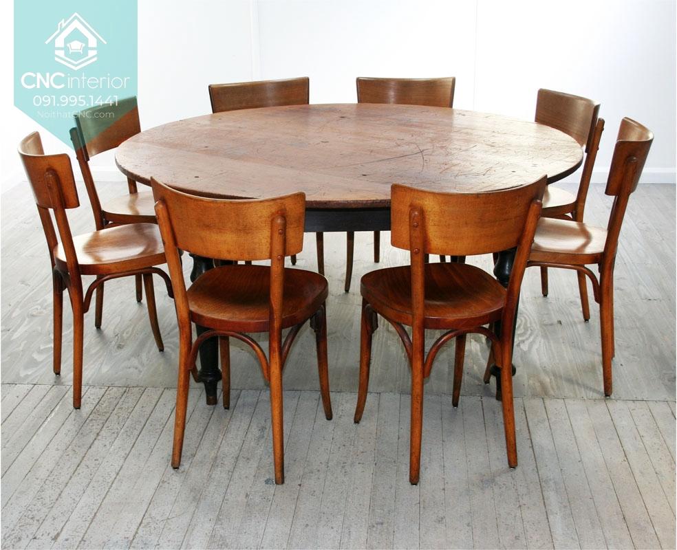 Bộ bàn ăn tròn 4