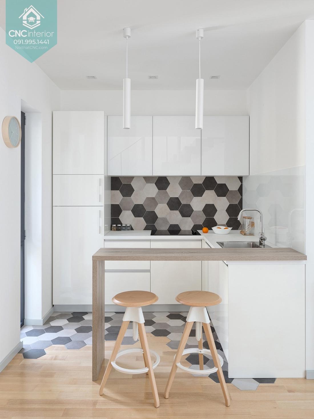 Phòng bếp đơn giản đẹp 1