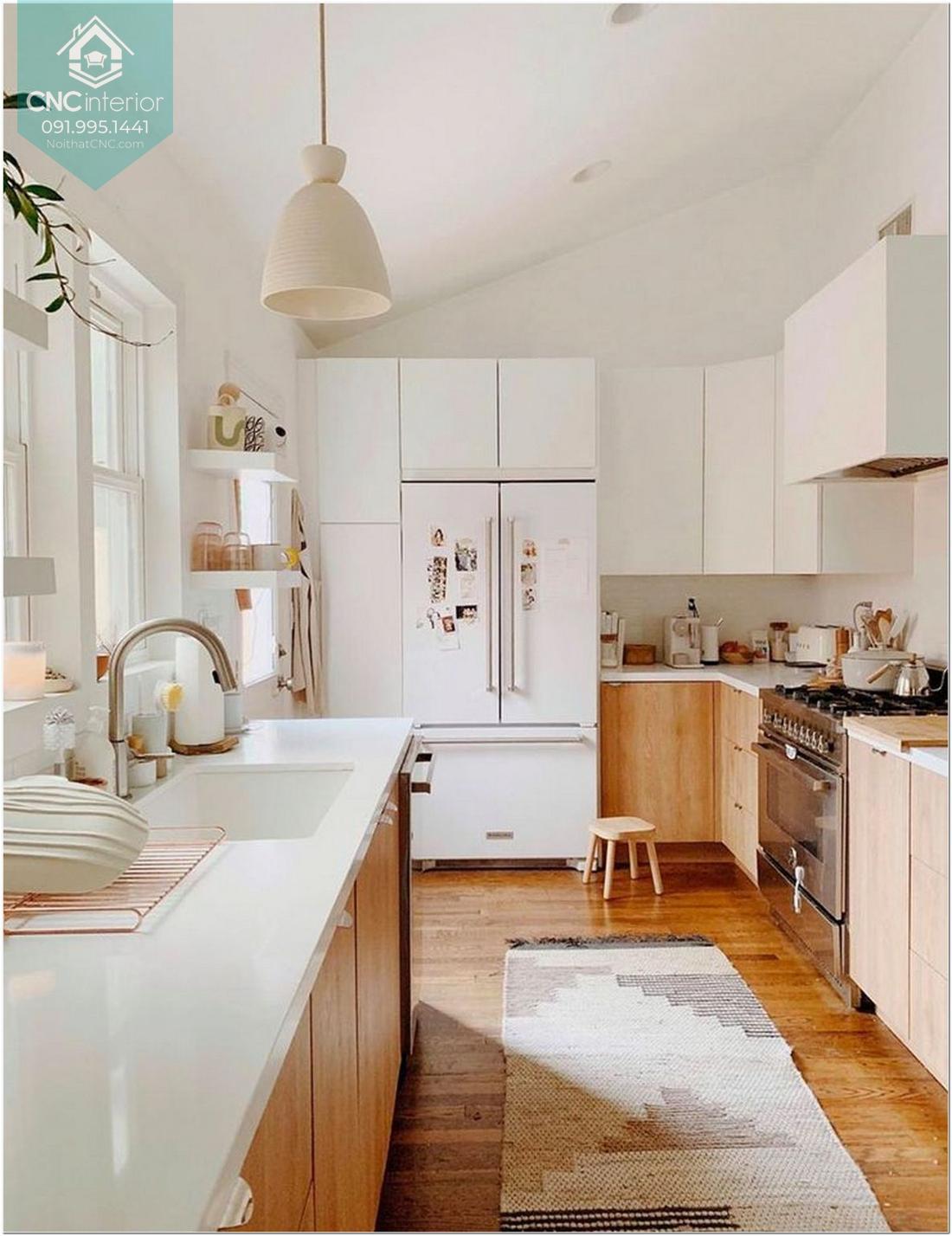 Phòng bếp đơn giản mà đẹp 1