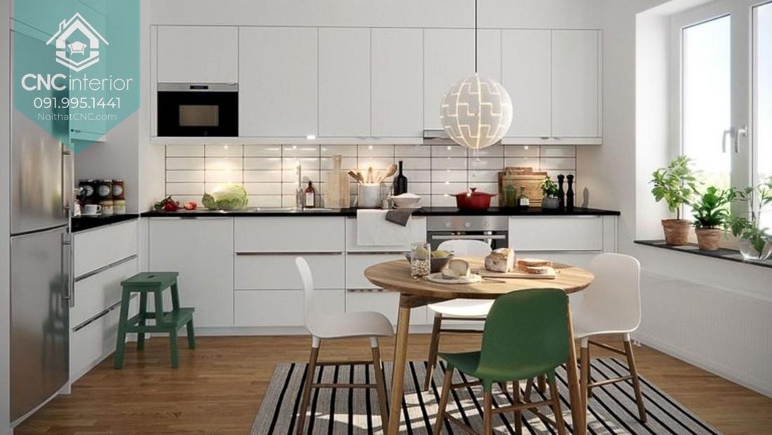 Phòng bếp chung cư 2