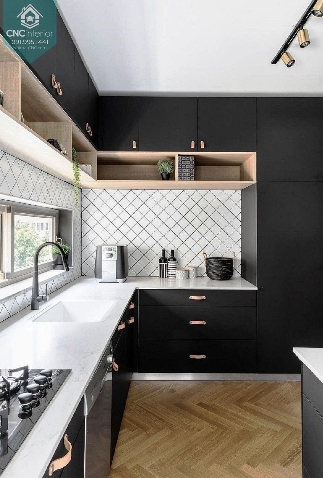 Phòng bếp đơn giản mà đẹp 2