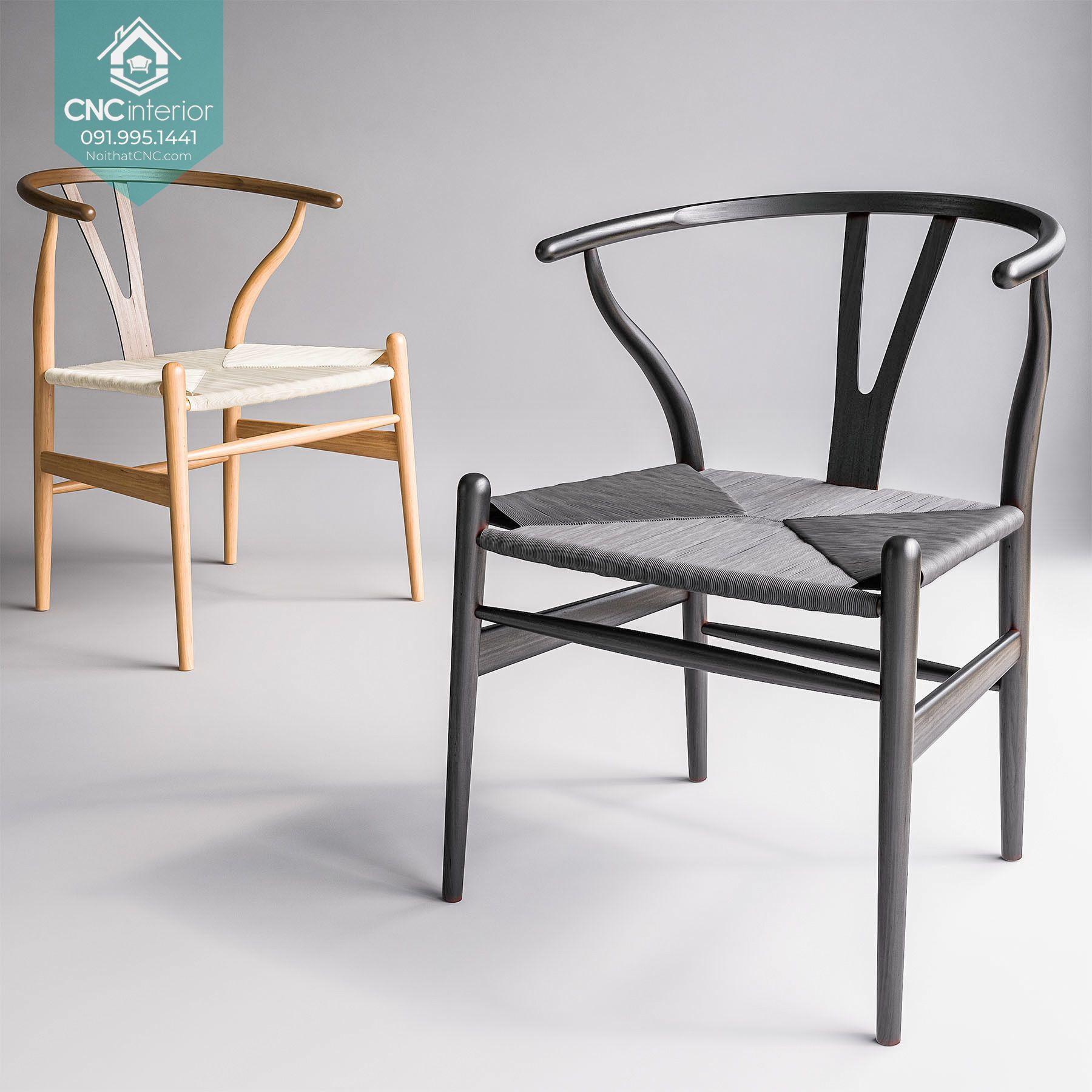 Ghế Wishbone hiện đại CNC 21 6