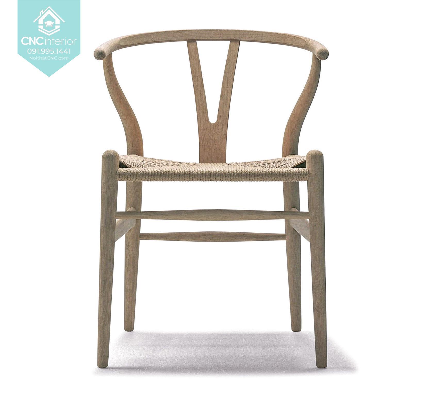 Ghế Wishbone hiện đại CNC 21 7