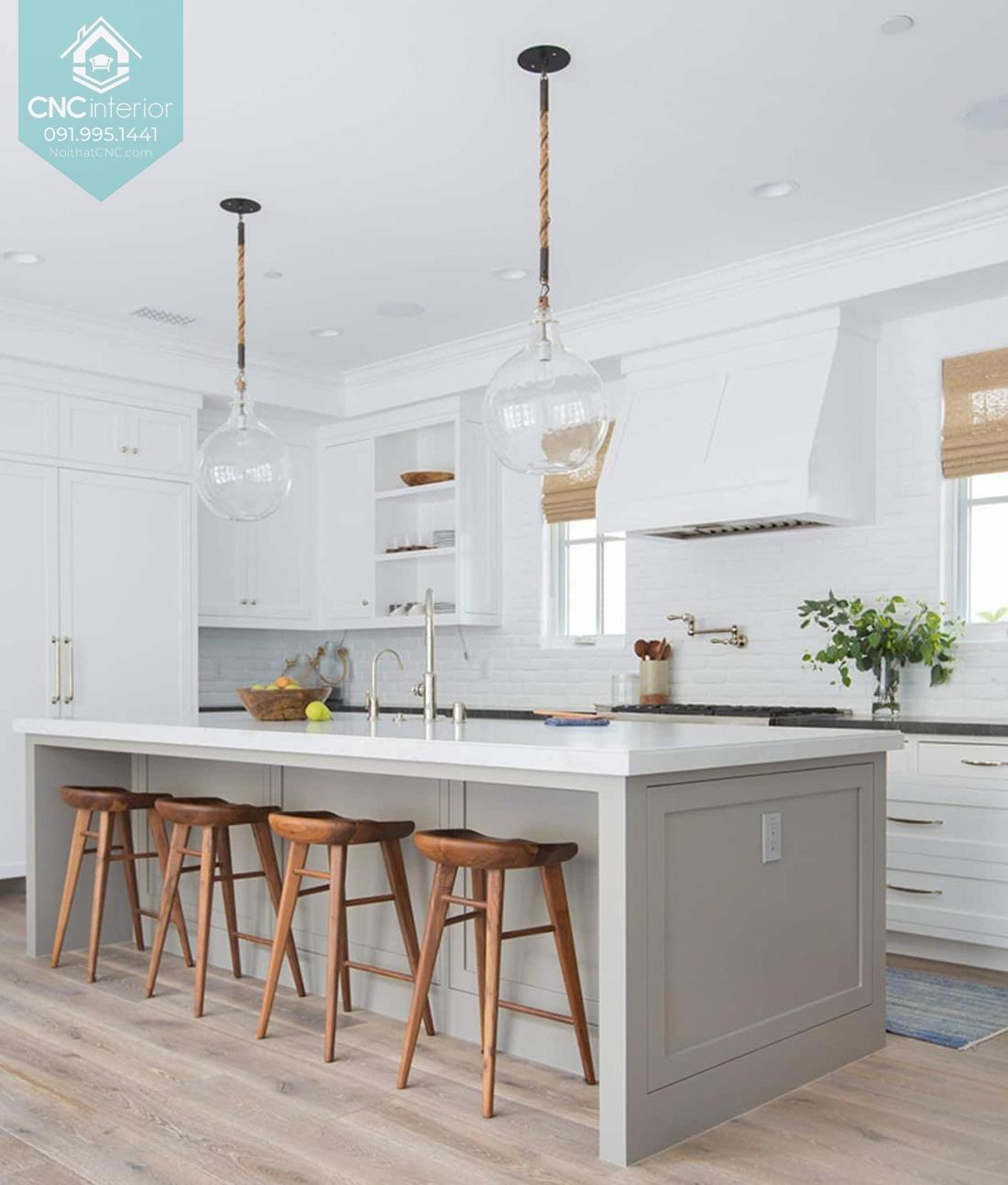Phòng bếp đơn giản mà đẹp 3