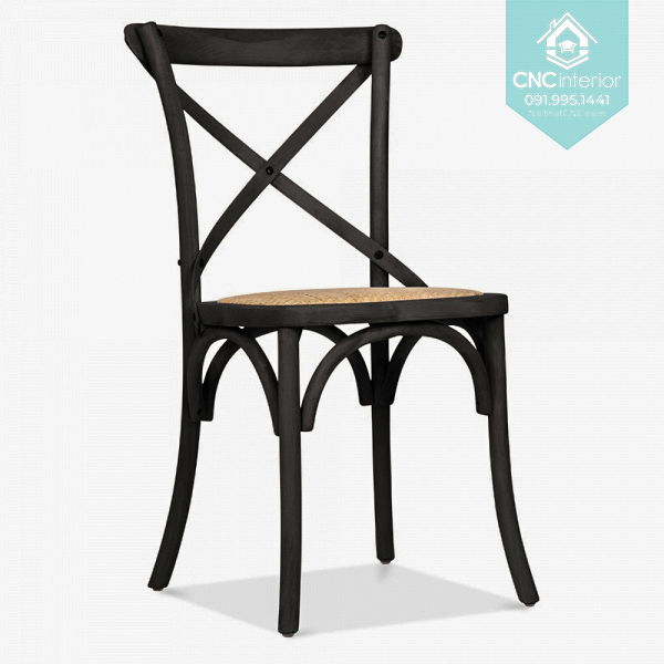 23 Bistro Chair Cross black chair boc nem 4