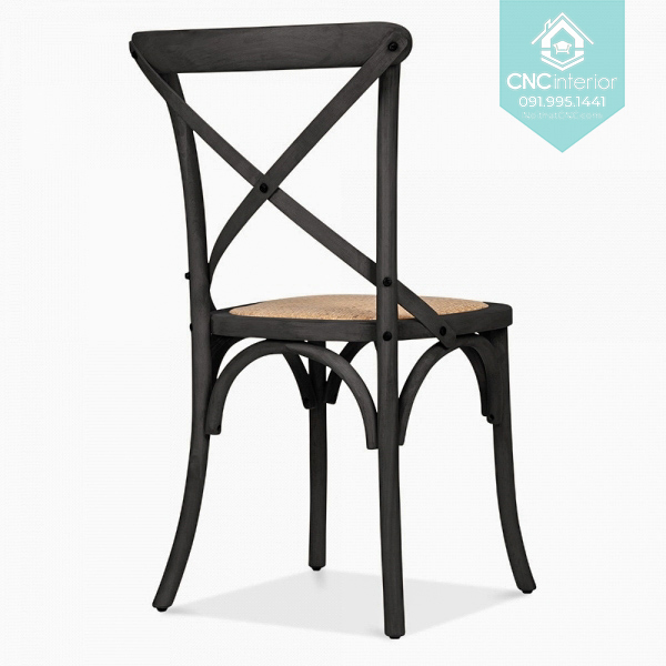 23 Bistro Chair Cross black chair boc nem 5
