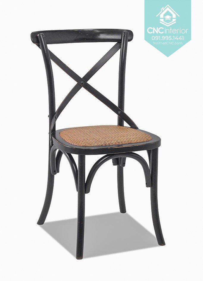 23 Bistro Chair Cross black chair boc nem 6