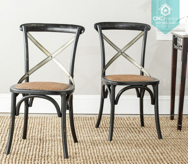 23 Bistro Chair Cross black chair boc nem 7