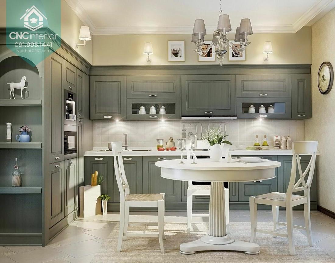 Phòng bếp tân cổ điển 3