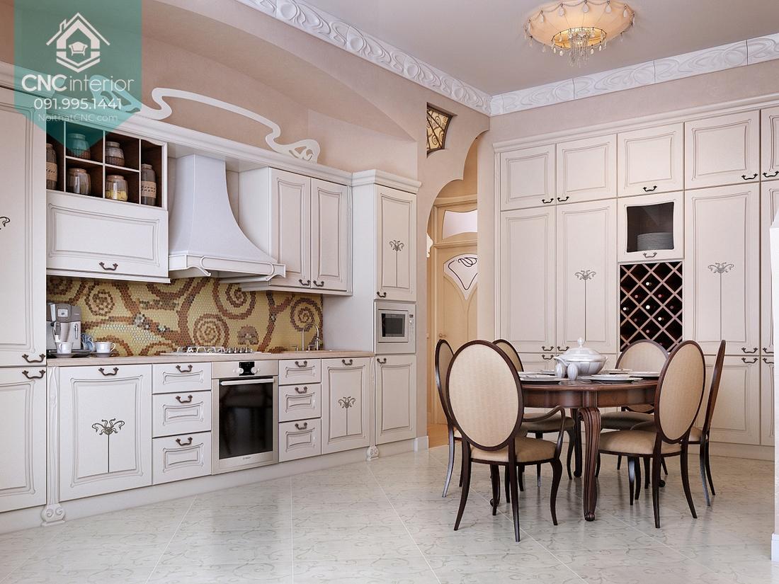 Phòng bếp tân cổ điển 4