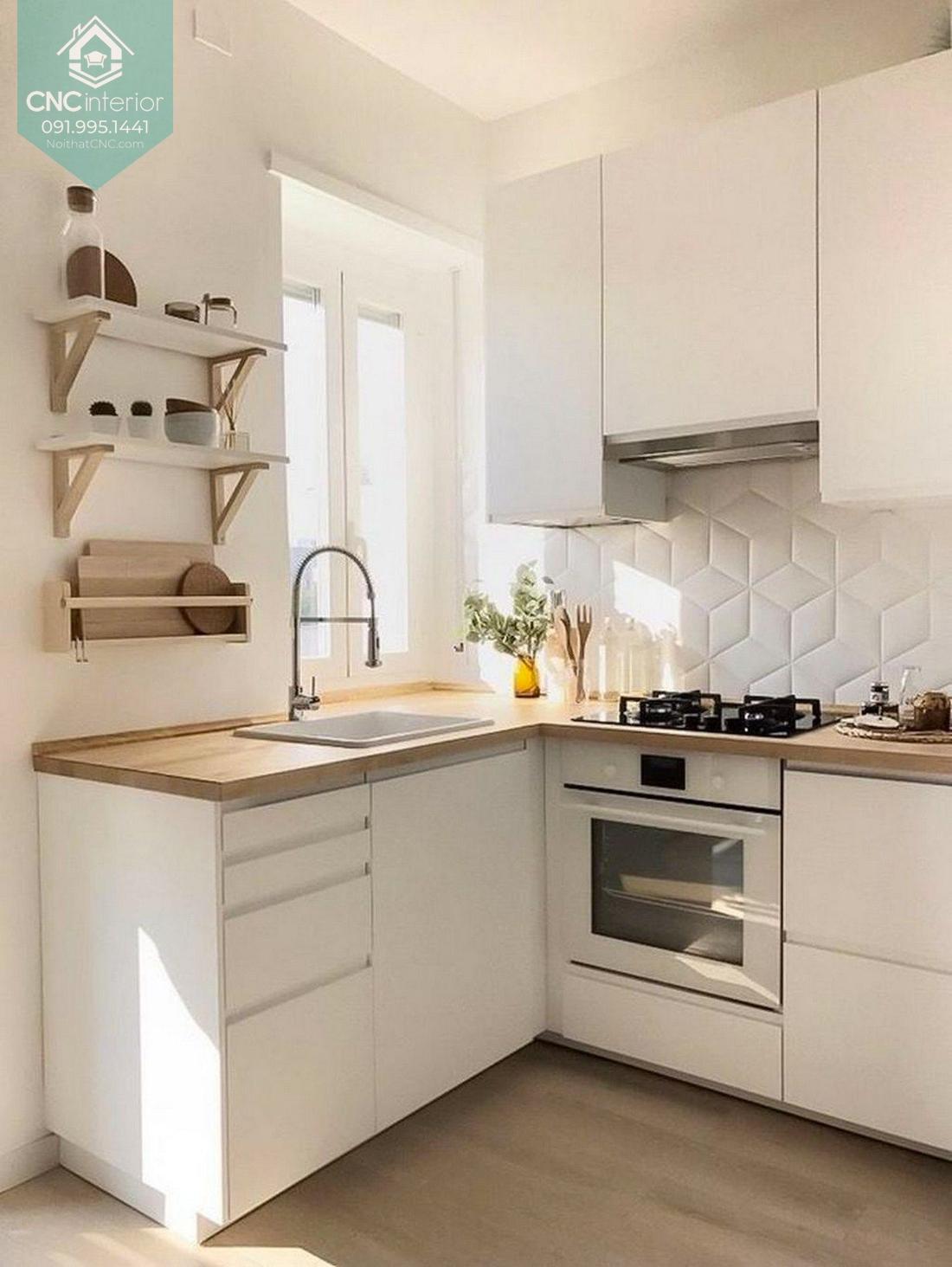 Nhà bếp đơn giản mà đẹp 4