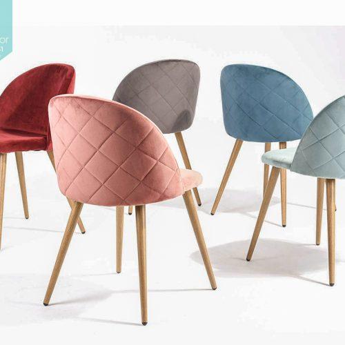 40 Velvet chair 6