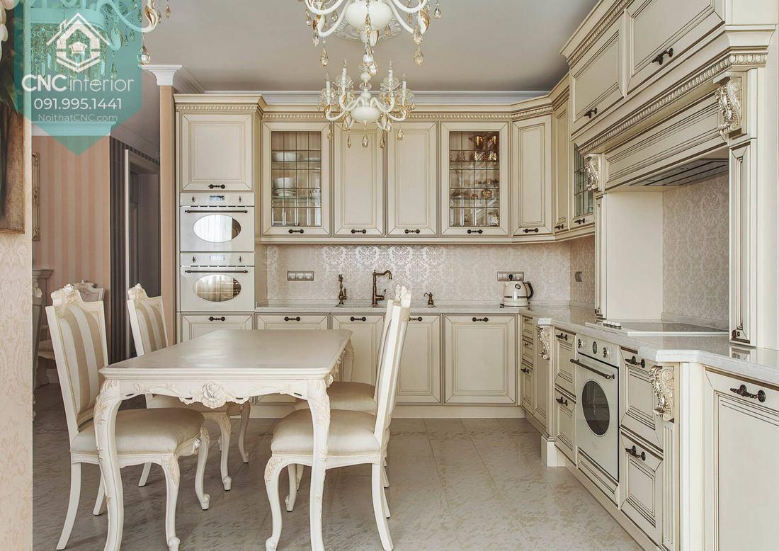 Phòng bếp tân cổ điển 5