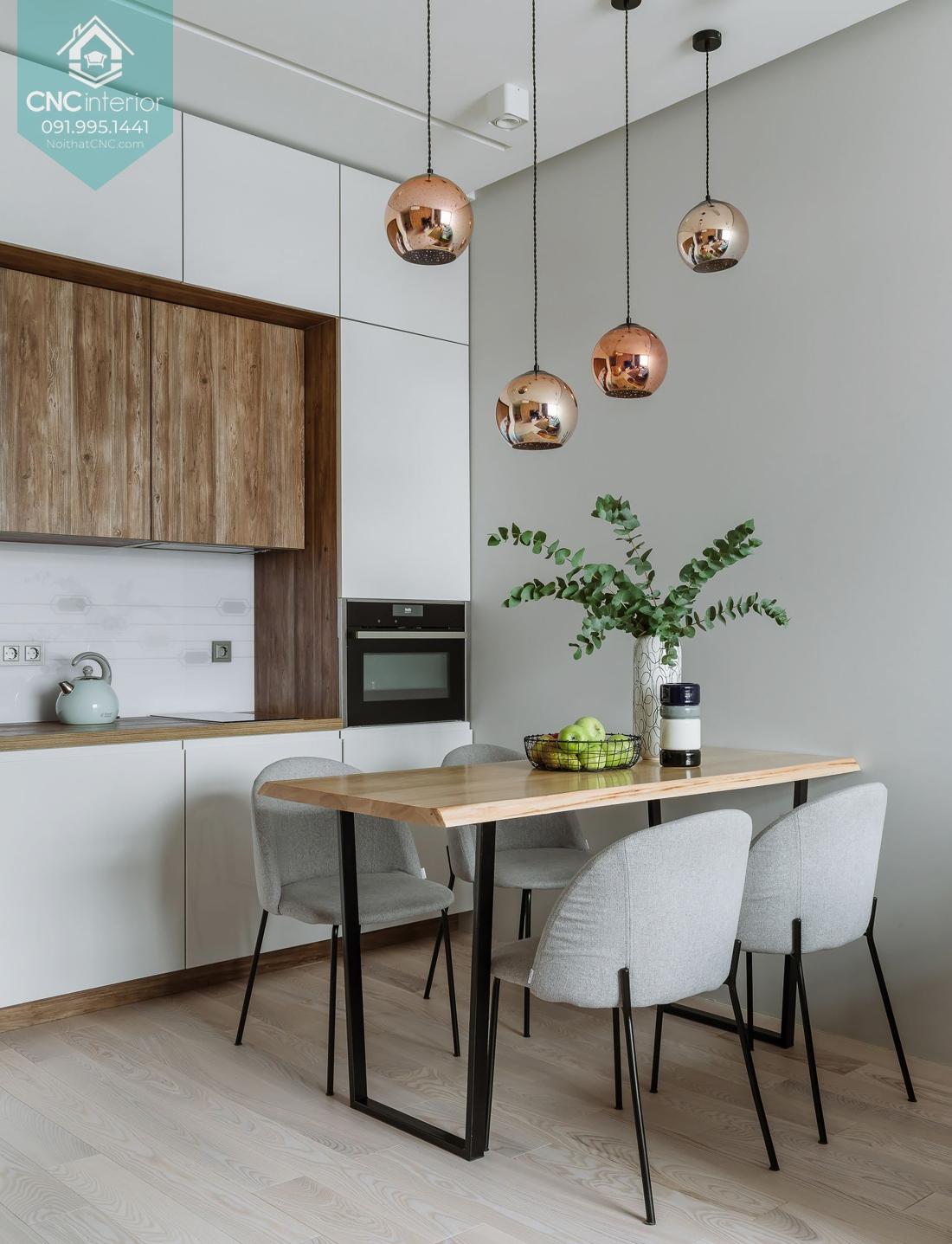 Phòng ăn đẹp hiện đại 3