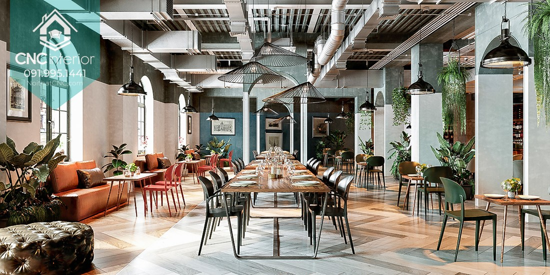 Function goes hand in hand with Aesthetics in eatery 17