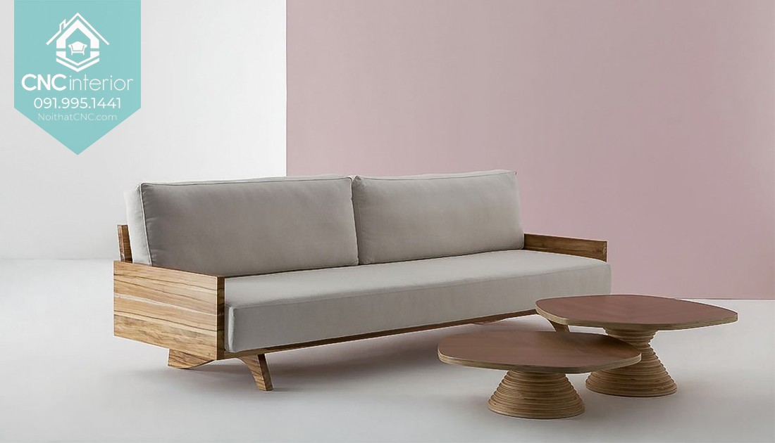 CNC's couch includes slatted base, luxurious padding and breathable fabric 14