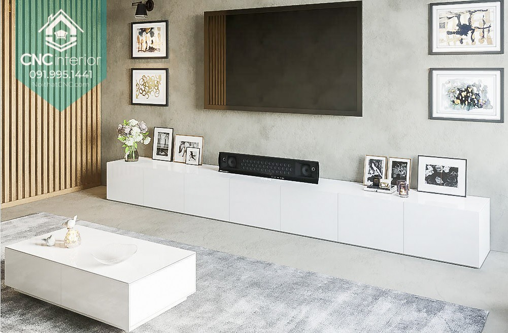 TOP THINGS TO PAY ATTENTION WHEN BUYING A TV CABINET VIETNAM 4
