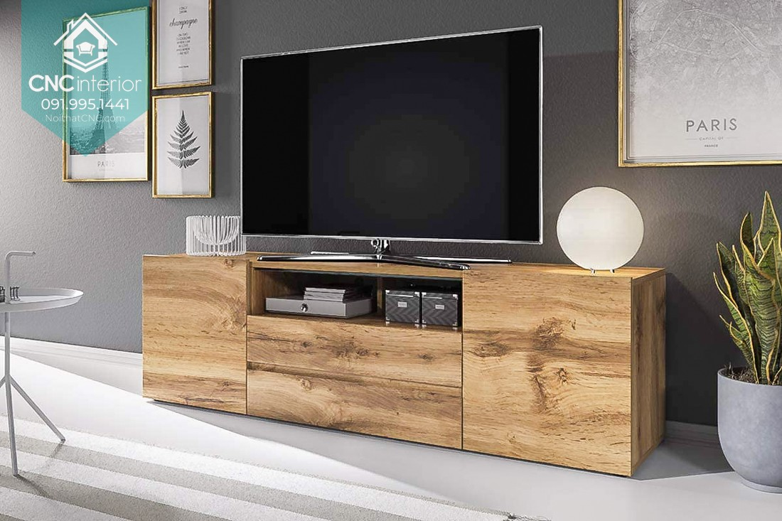TOP THINGS TO PAY ATTENTION WHEN BUYING A TV CABINET VIETNAM 3