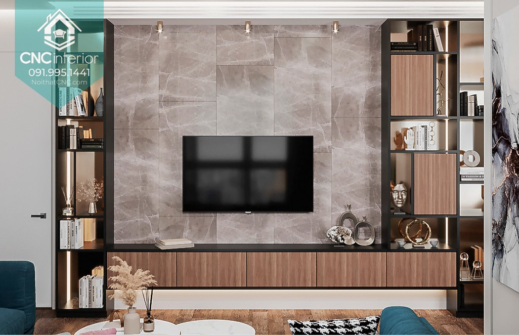 TOP THINGS TO PAY ATTENTION WHEN BUYING A TV CABINET VIETNAM 24