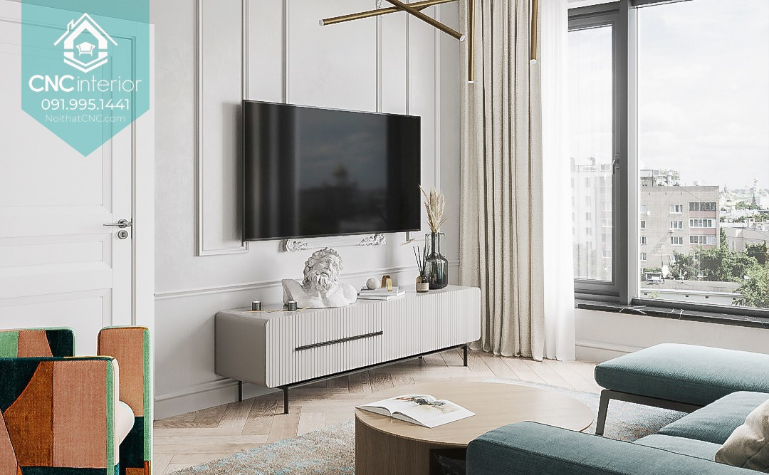TOP THINGS TO PAY ATTENTION WHEN BUYING A TV CABINET VIETNAM 2