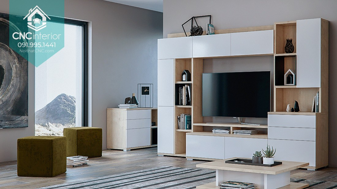 TOP THINGS TO PAY ATTENTION WHEN BUYING A TV CABINET VIETNAM 11
