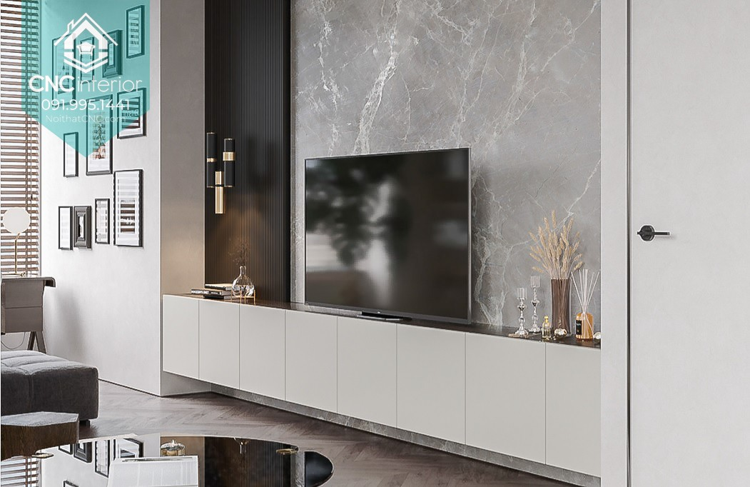 Media stand adds a touch of warmth and charm 20