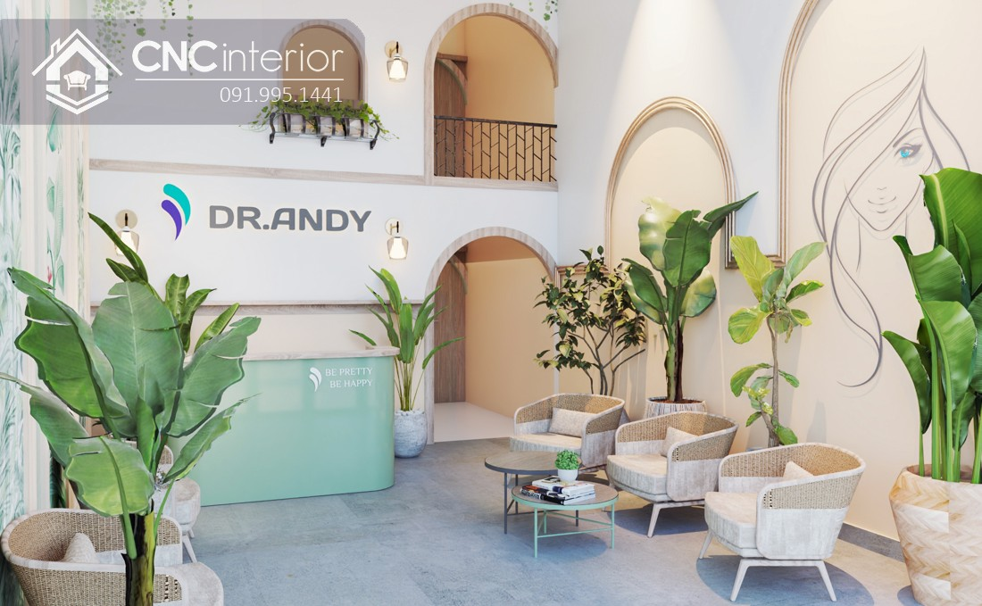 Dr.Andy Spa quận 2 phong cách Tropical