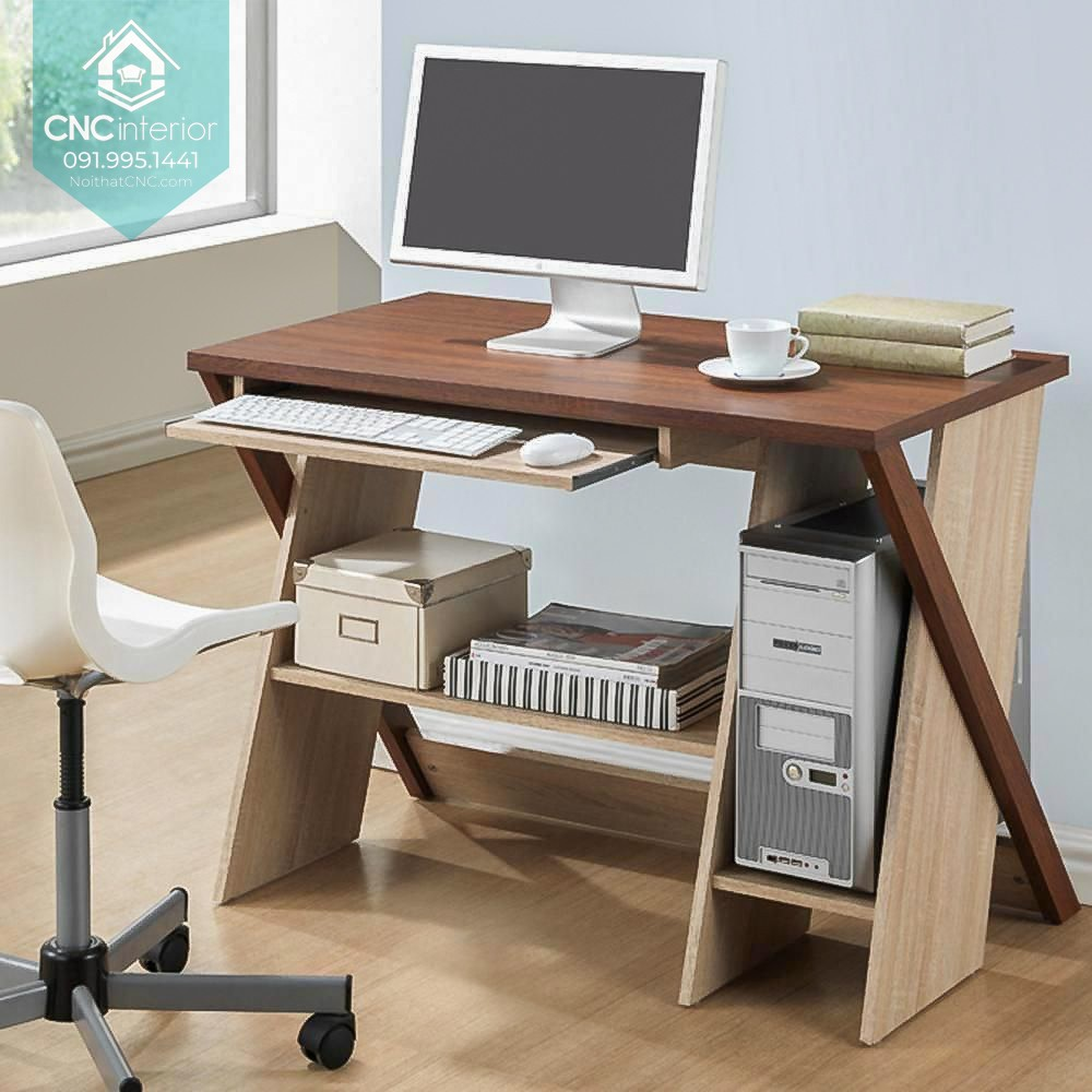 CNC's computer desk will help you stop eye strain and improve posture for a healthy back 22