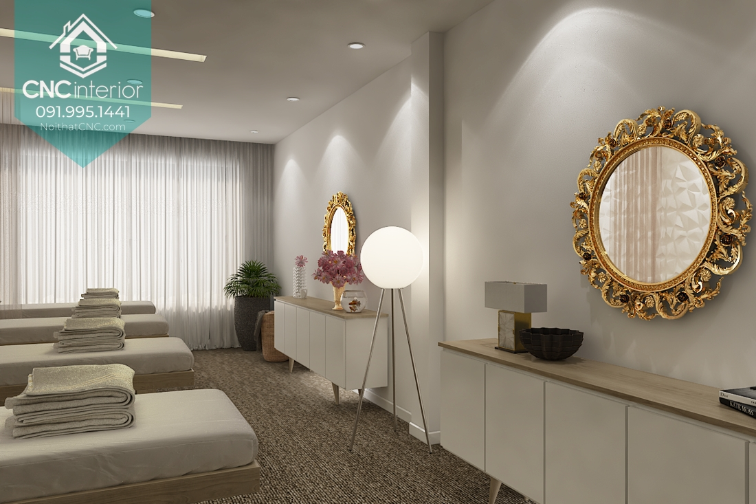 Thiết kế nội thất spa hiện đại 1