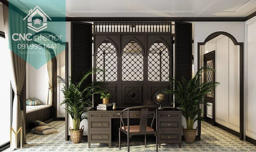 Phong cách kiến trúc Đông Dương 1