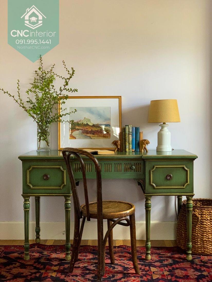 Phong cách vintage trong thiết kế nội thất