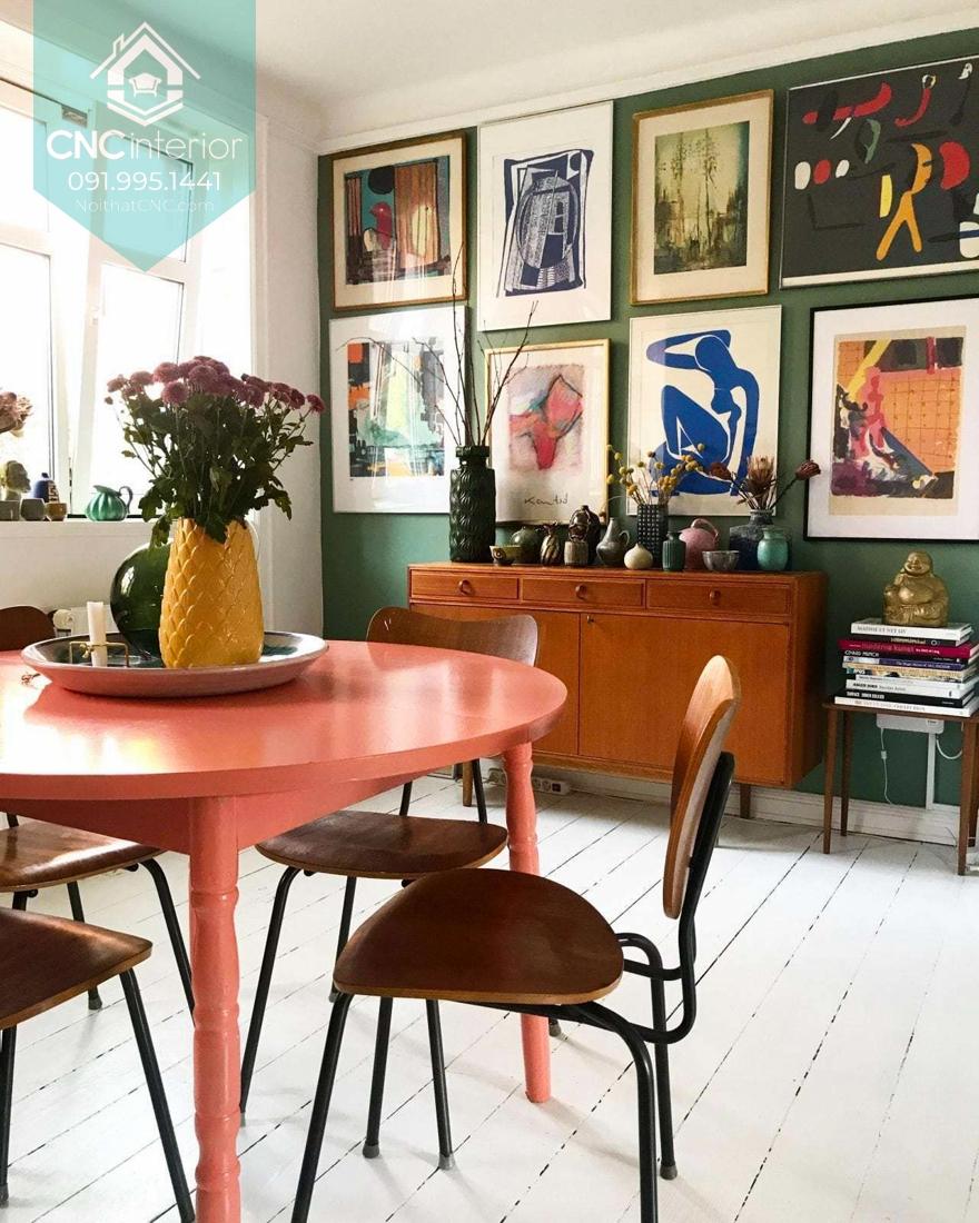Phong cách nội thất vintage là gì