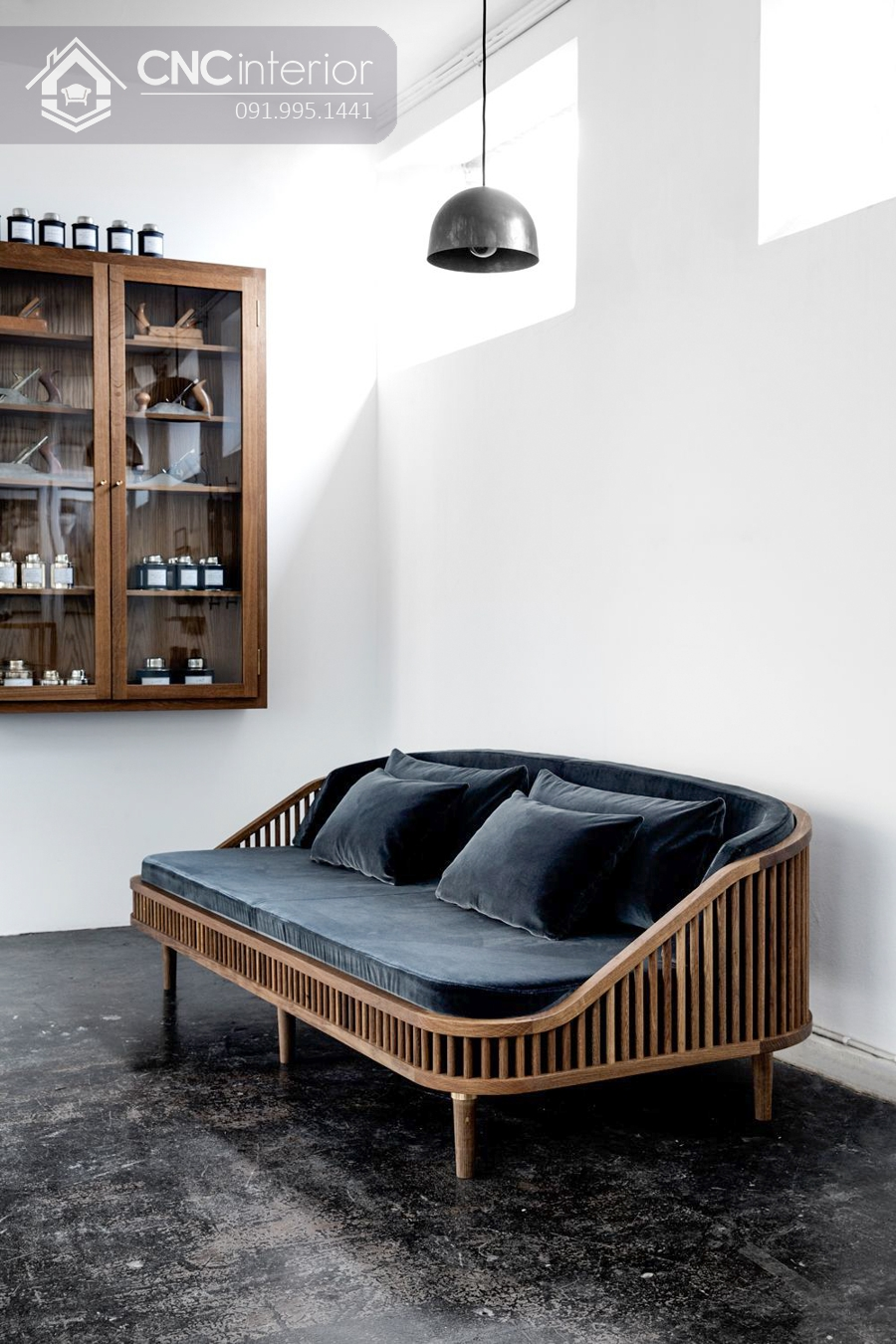 Sofa gỗ cao cấp sang trọng CNC 12 2