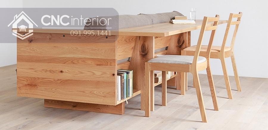 Sofa gỗ đẹp đa năng CNC 14