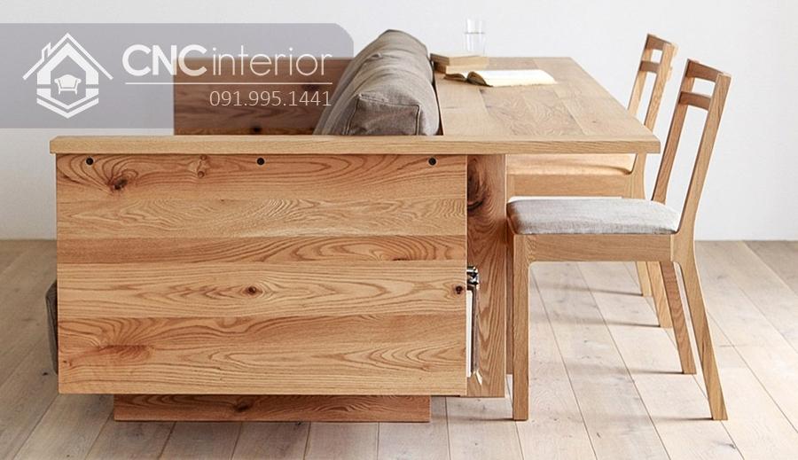 Sofa gỗ đẹp đa năng CNC 14 1
