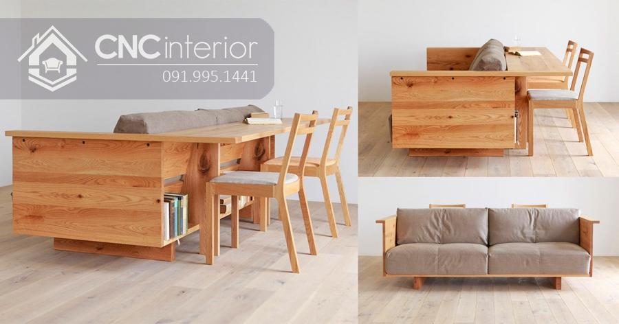 Sofa gỗ đẹp đa năng CNC 14 2