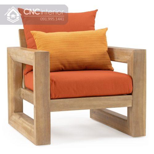 Sofa go don gian CNC 174