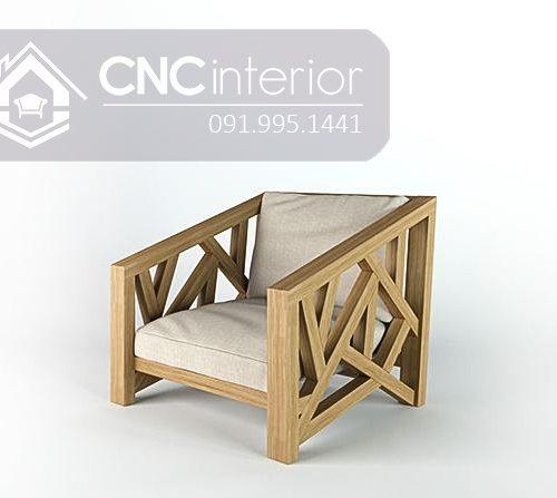 Sofa go don gian CNC 19